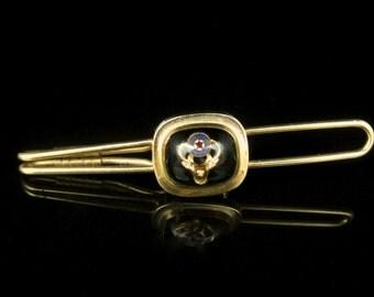 Vintage Hayward Fraternal Order of ELKS 12k Gold Filled Tie Bar Clip