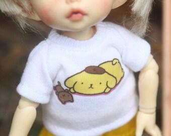 B131 - Lati Yellow / pukifee Outfits (T-shirt and pants)