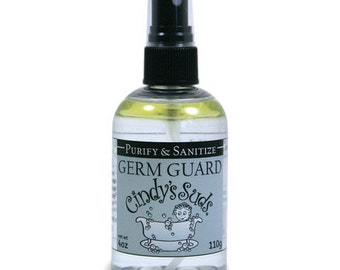 Germ Guard Essential Oil Spray, 4 oz, Disinfectant, Antibacterial Spray, thieves type, hand sanitizer, air purifier