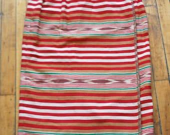 Western, Navajo skirt / Wrap Skirt / Aztec