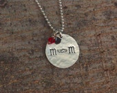 Track Mom Necklace, Cross Country Mom Necklace, Track Mom Jewelry, Team Mom Gift Team Spirit Jewelry Sports Necklace