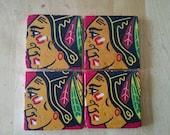 Chicago Blackhawks Coasters
