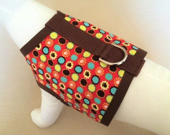 Colorful Circles Dog Harness Vest