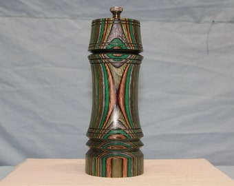 7 Inch COLORWOOD PEPPER MILL Number 1257