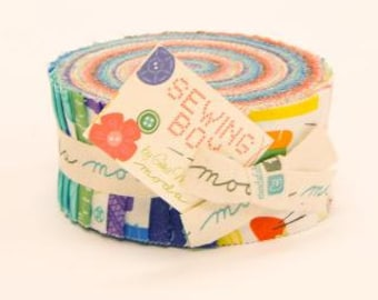 Jelly Roll - Sewing Box by Gina Martin for Moda