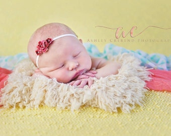 Buttercup Yellow LAYeR SiZe Fur Newborn Photo Props, Faux FUR Baby Photo Props, Photography Props, Soft, Baby Whisperer, Sitters, Girls