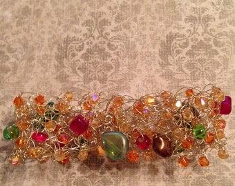 Shine On Fall Vintage Style Fall Harvest Bracelet