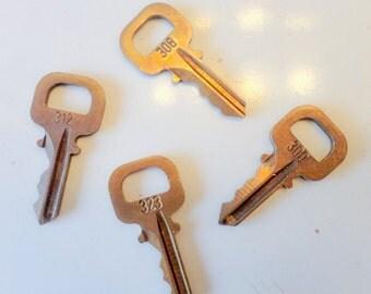 ONE Louis Vuitton padlock Key L.V. original Designer Brass Lock. Choose Number From the Drop Down Menu