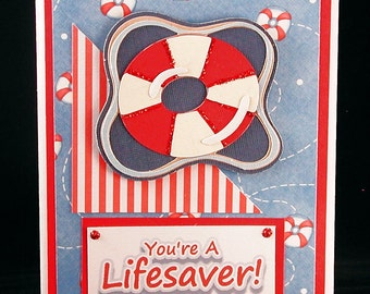 Lifesaver Thank You Card