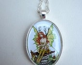 SALE Fairy necklace by Amy Brown