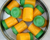 10 Vintage Kodak 35mm Film Canisters / Tiny Storage Containers