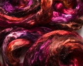 Tencel roving for spinning - Red Oak, 1 oz.