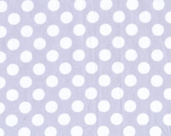 Ta Dot Polka Dots Stone Michael Miller Fabric, Choose your cut