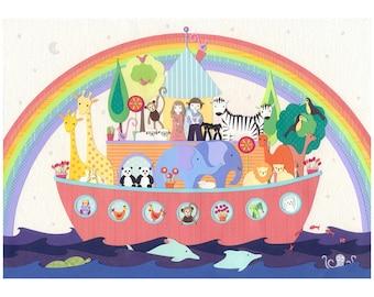 After the Rain  - Fine Art Print - Noah's Ark
