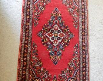 REDUCED Iran Made Wool Rug Small