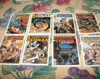 Conan, The Savage Sword of, 1988 Comic Images 8 cards