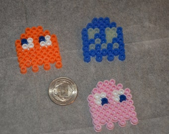 Pacman ghost inspire magnets