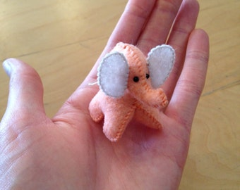 CUSTOM color teenie felt ELEPHANT BJD toy iplehouse little fee fairyland blythe doll toy