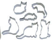 You pick Cat cookie cutter, kitty cat cookie cutter, kitty cookie cutter
