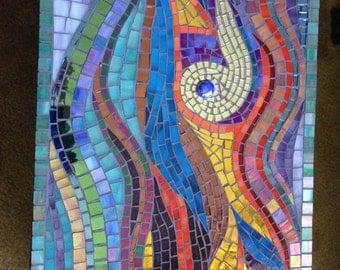 Violet Enchantment Mosaic