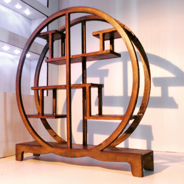 orientalische m bel dunkle holz chinesischer asymetrischen. Black Bedroom Furniture Sets. Home Design Ideas