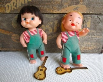 Vintage 1960s Discotheque Dolls Made in Japan