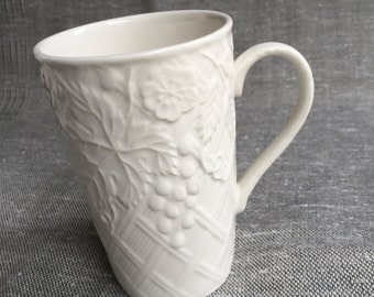 Mikasa English Countryside Coffee latte mug