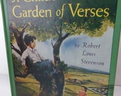 Vintage Book A Child's Garden of Verses 1961 Classic Poetry