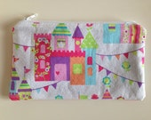 Snack Bag / Zipper Bag / Essential Oil Bag - Kids Castle