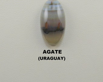 Uraguay Agate Designer Oval Cabochon for Jewelry Artisans.