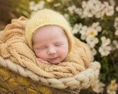 Butter Yellow Cheesecloth baby wrap high grade - photography prop - organic - wrap - newborn wrap - baby wrap