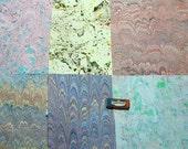 Pack 6 scrapbook ,  marmorpapier.  -  cm 25 x 35  -  5410