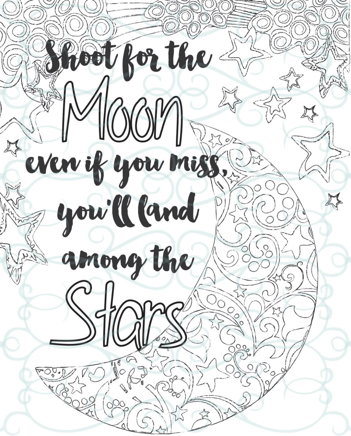 Inspirational quotes coloring pages free pdf printable for Positive quotes coloring pages