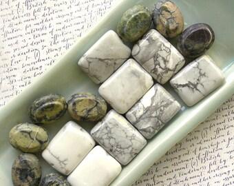 Stone Bead Mix 60% off, qty 16