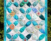 MarveLes COLLAGE a~PEEL  PATTERN for Tablerunner Fusible Floral Collage Home Decor Wall Hanging