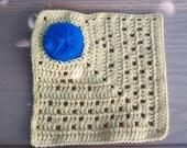 Crochet Dishcloth with Scrubbie