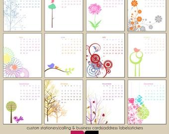 2016 Mod and Retro CD Case Desk Calendar