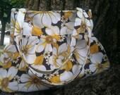 Small Handmade Summer Pleated Hobo Shoulder Purse Bag -  Ashleighs Garden