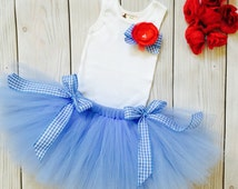 Wizard of Oz Dress Tutu Outfit for Baby Girls, Dorothy Costume for Baby, Halloween Costumes, Oz