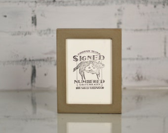 3.5 x 5 inch Picture Frame in Peewee Style and in Finish Color OF YOUR CHOICE - Rustic 3x5 Photo Frame - Gallery Frame 3 x 5