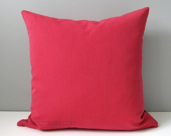 Hot Pink Outdoor Throw Pillows : Hot Pink Chevron Pillow Cover Modern Outdoor Pillow by Mazizmuse
