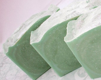 Key Lime Pie - Handmade Soap Bar