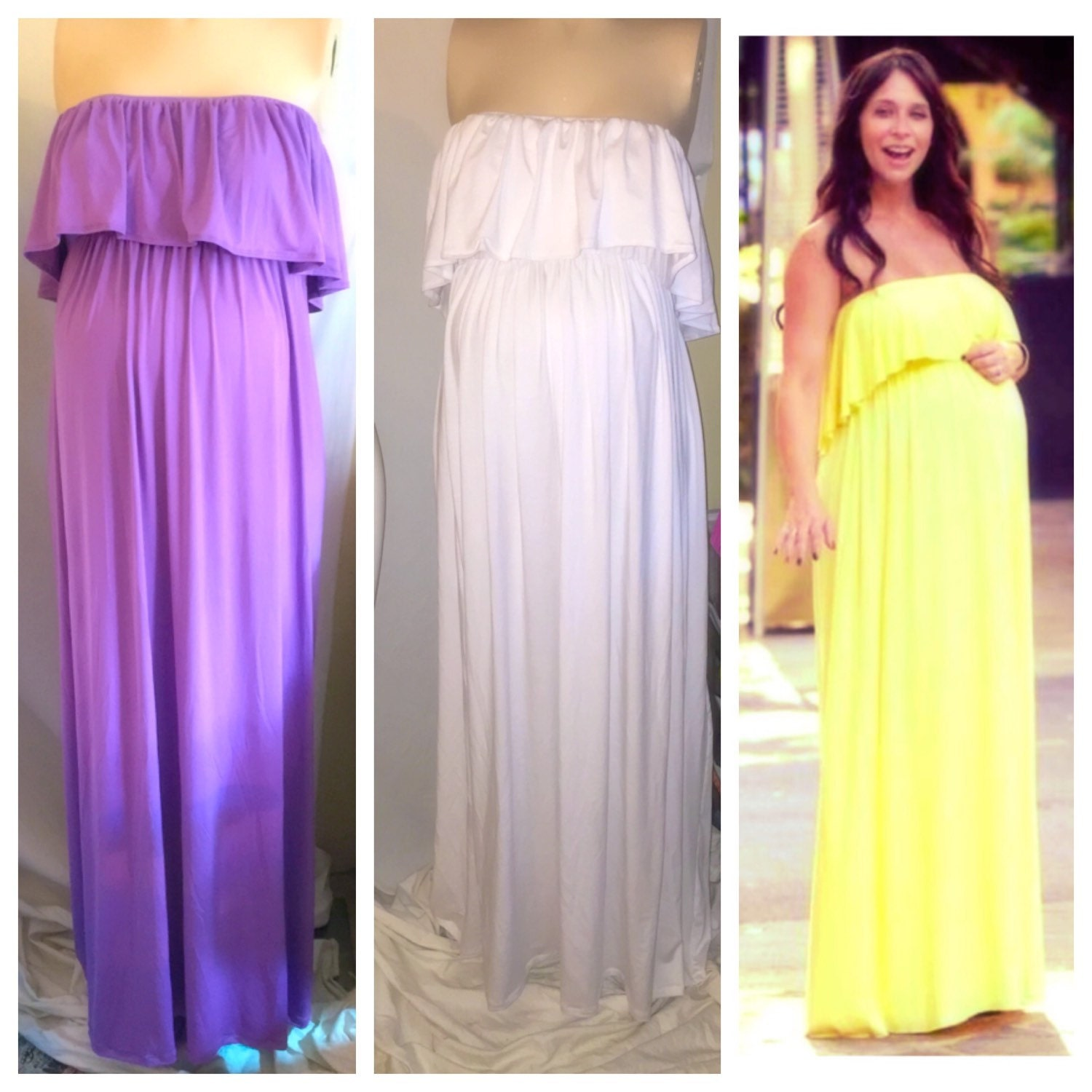 maxi maternity dresses for baby shower