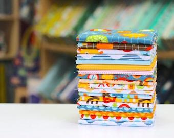 School Days Half Yard Bundle by Zoe Pearn - Riley Blake 18 HYs FreeSpirit Fabrics