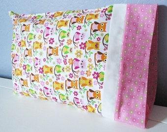 Sweet Owl Pillow - Travel/Toddler