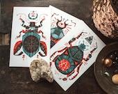 Magic Beetle - Mini Prints
