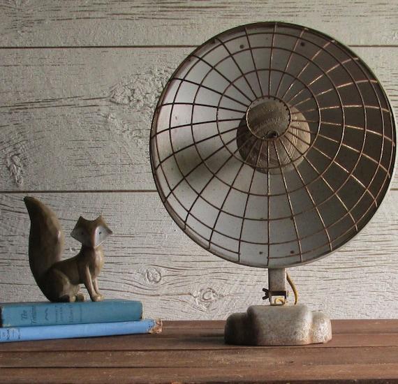 Vintage heater industrial d cor focalipse space heater - Very small space heater decor ...