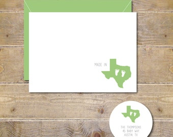 Baby Feet, States, Made In, Thank You Cards, Baby Thank You Cards, Baby Announcement, Baby Footprints, Baby Shower, State Of Birth