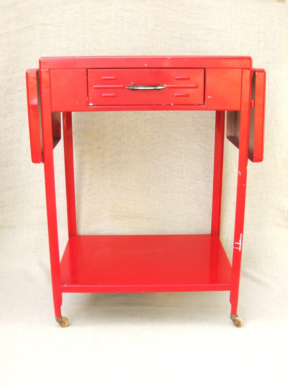 table rolling table kitchen cart side table work table
