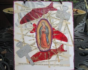 Our Lady of Guadalupe assemblage icon